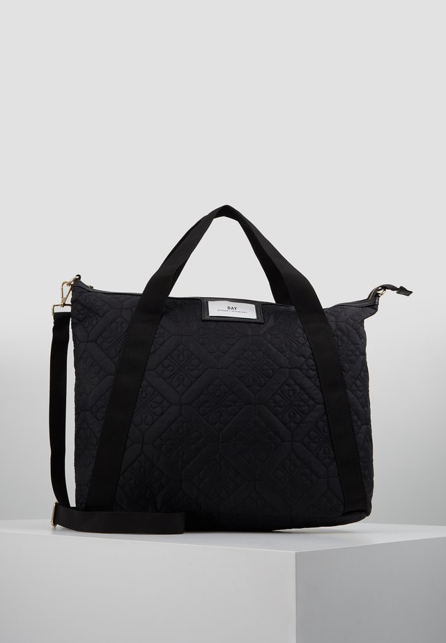 GWENETH CROSS FLOTILE - Shopping bag - black