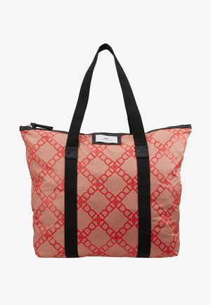 GWENETH CHAIN BAG - Tote bag - red