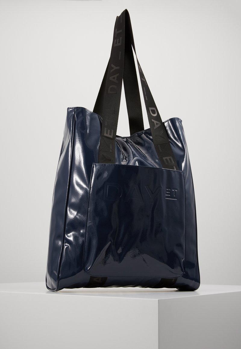 DAY Birger et Mikkelsen - PATENT TOTE - Shopping Bag - outer space