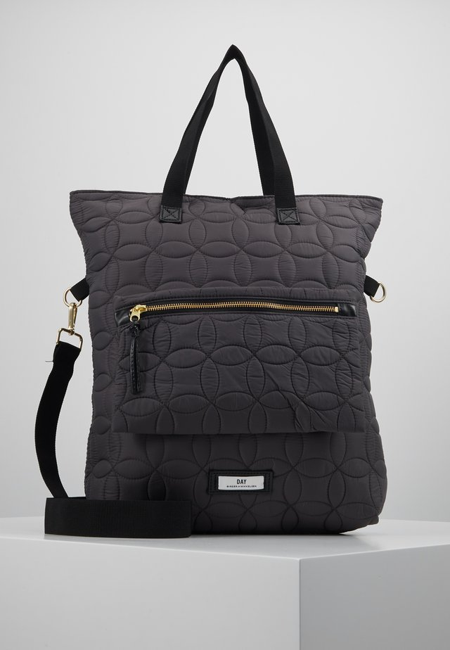 GWENETH HALO TATCH - Tote bag - asphalt
