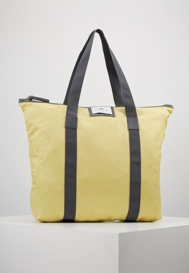 GWENETH BAG - Shopping bags - sunshine yellow