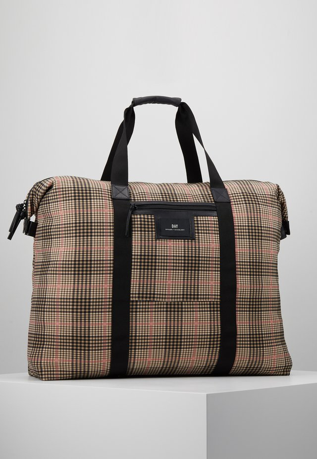 GWENETH TARTAN WEEKEND - Borsa da viaggio - moonlight beige