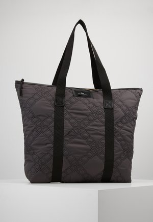 GWENETH CHAIN - Tote bag - forged iron grey