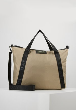 GWENETH RECYCLE CROSS - Tote bag - coriander