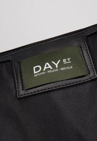 DAY Birger et Mikkelsen - GWENETH RECYCLE CROSS - Shopper - black - 5