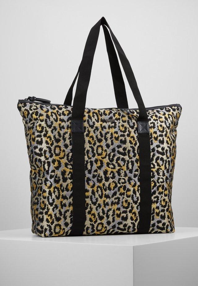 JAGGED BAG - Shoppingveske - sunshine yellow