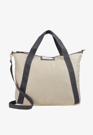 GWENETH CROSS - Bolso shopping - moonlight beige