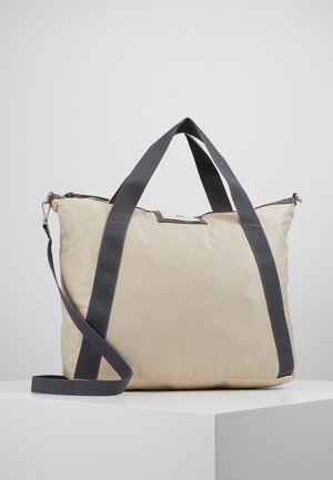 GWENETH CROSS - Shopping Bag - moonlight beige
