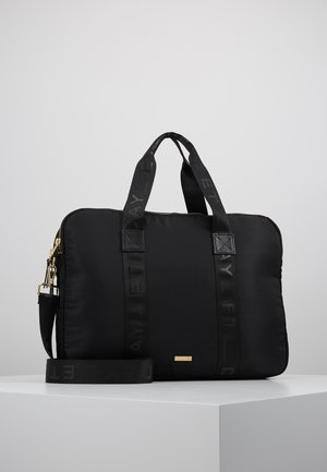 DOUBLE ZIP COMPUTER - Laptop bag - black