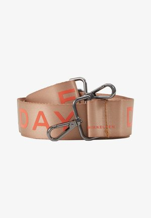 STRAP - Pasek - light brown/orange