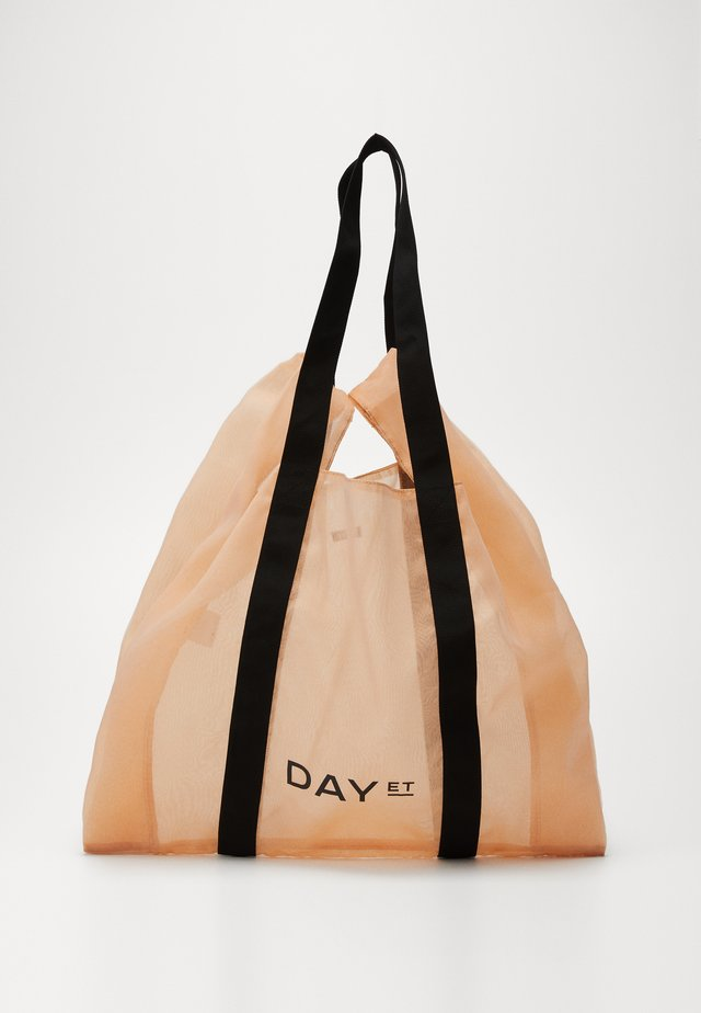 GROCERY LARGE - Shopping bag - hot coral orange