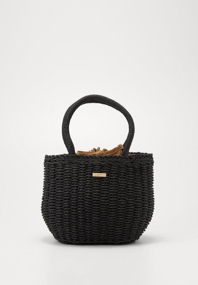 DAY BEACH BASKET  - Handtasche - black