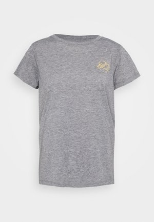 WOMENS MOUNTAIN STARS TECH - Sports shirt - heather graphite