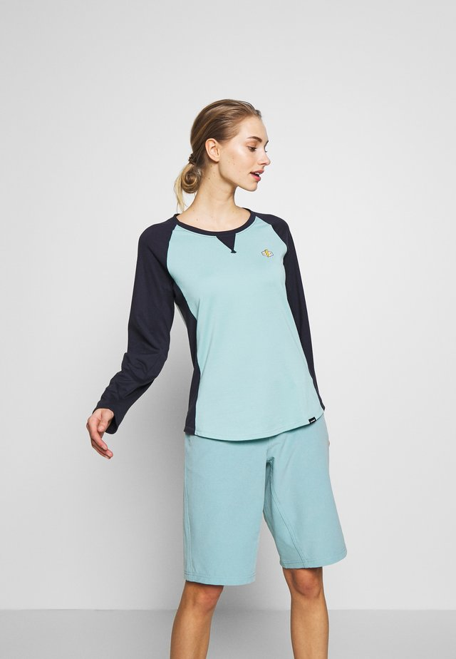 XENA  - Long sleeved top - nile blue