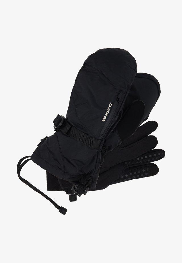 SEQUOIA MITT - Tumvantar - black