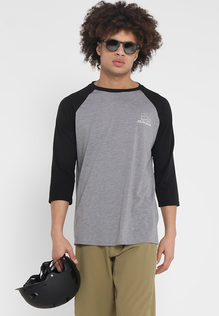 Dakine - WELL ROUNDED 3/4 RAGLAN TECH  - Funktionsshirt - black
