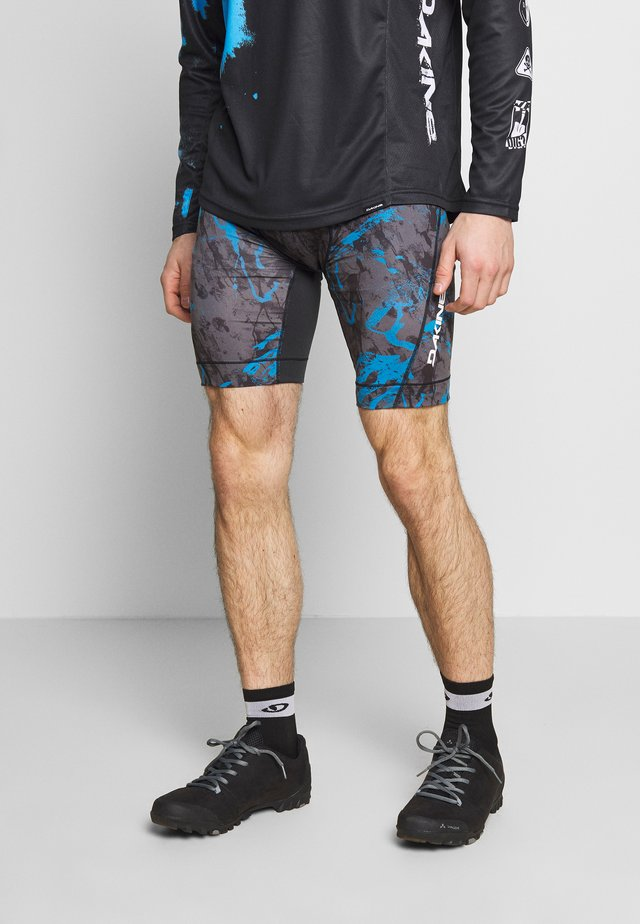 MENS COMP LINER SHORT - Collant - cyan