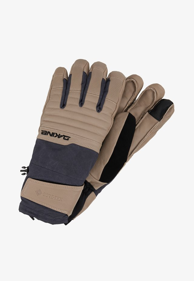 MAVERICK GORE-TEX GLOVE - Fingerhandschuh - stone/night sky