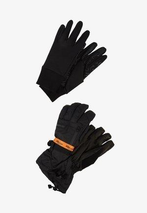 TITAN GORE-TEX GLOVE 2-IN-1 - Rękawiczki pięciopalcowe - black