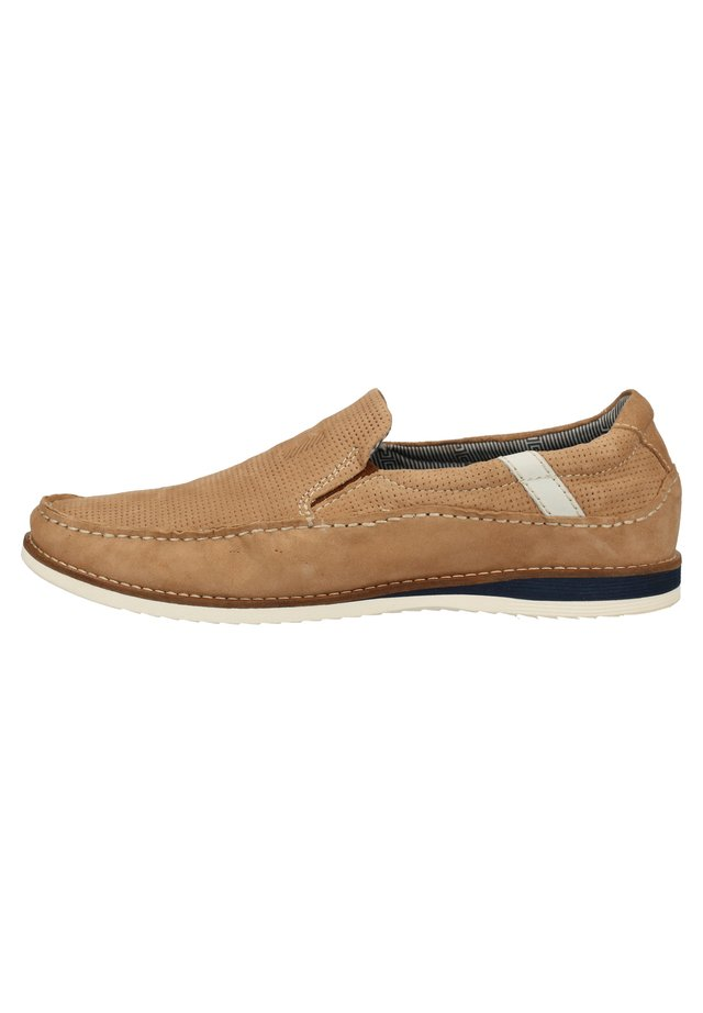 DANIEL HECHTER SLIPPER - Loafers - sand 5300