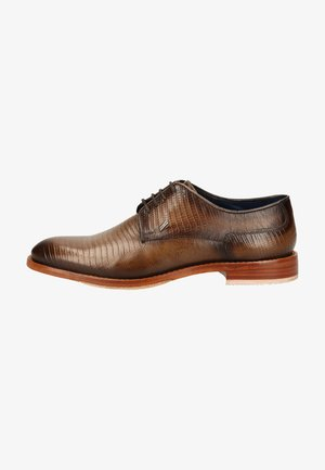 Smart lace-ups - taupe