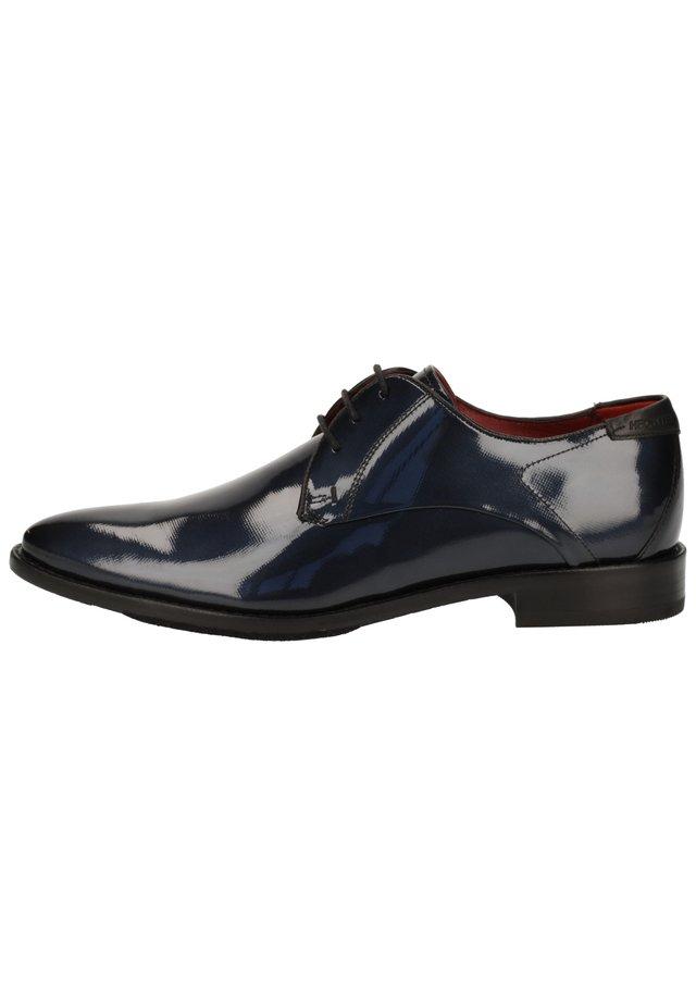 ZAKELIJKE SCHOENEN - Smart lace-ups - dark blue 4100
