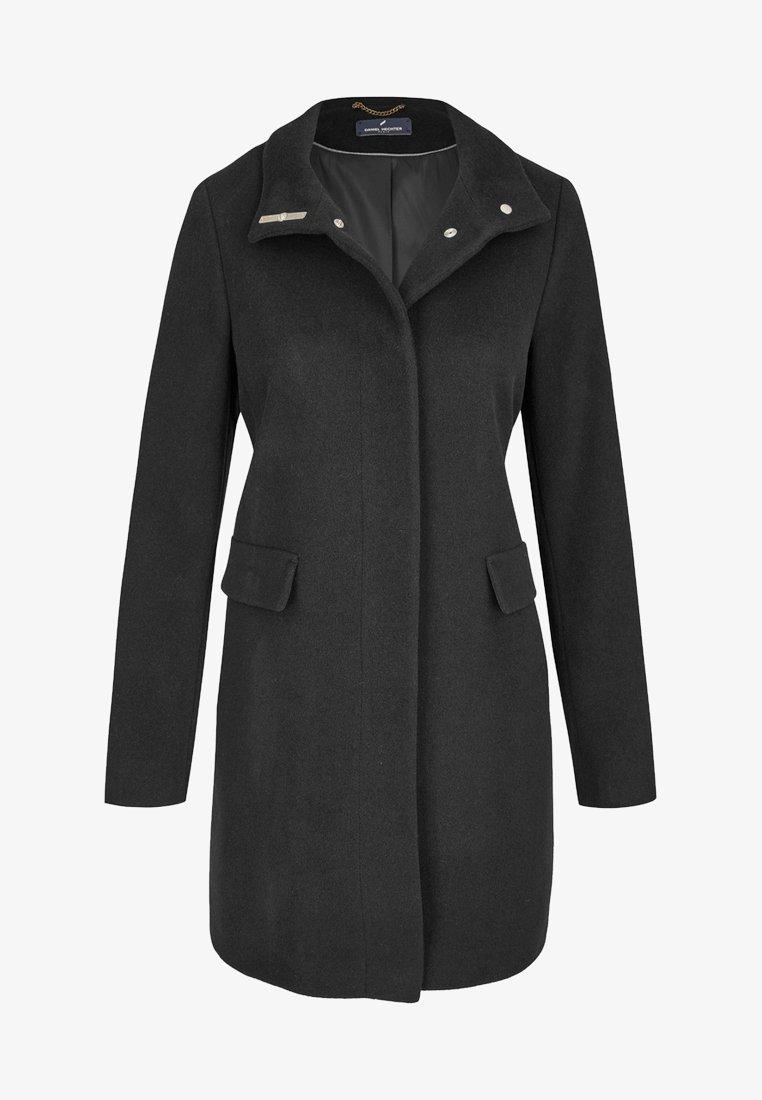 Daniel Hechter - MIT GERADEM SCHNITT - Classic coat - black