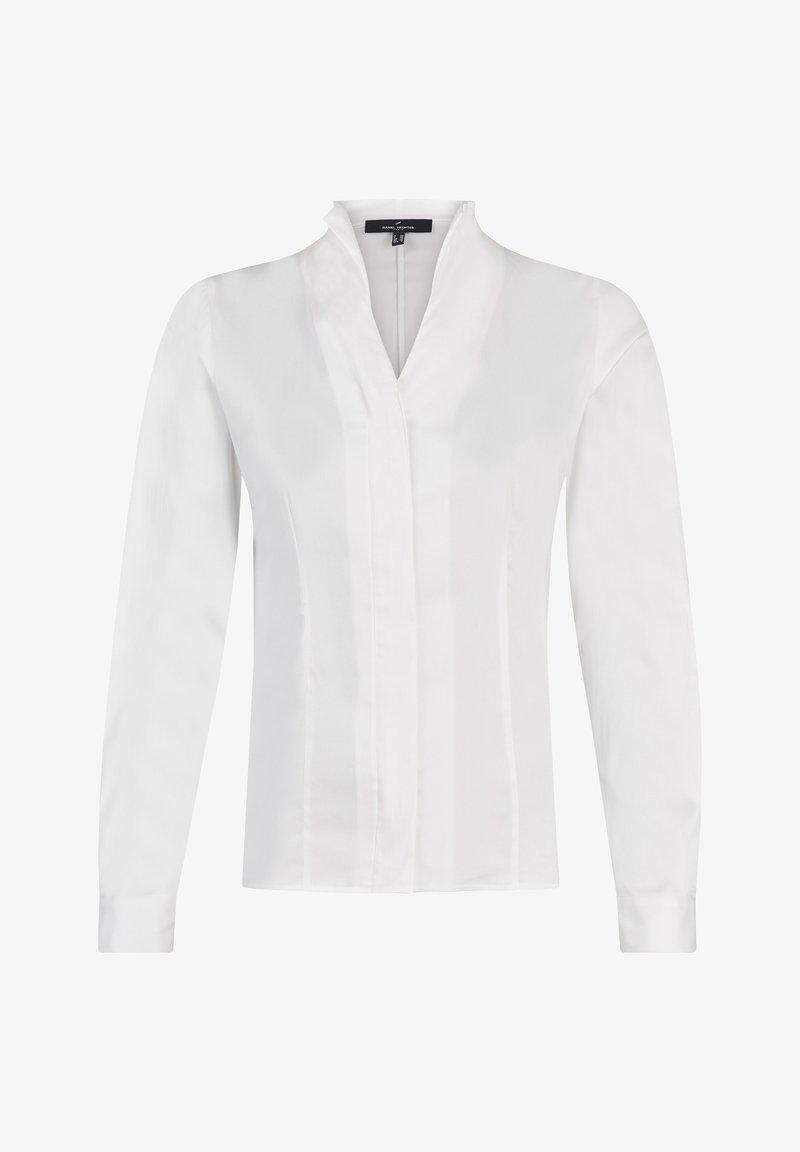 Daniel Hechter - MIT VERDECKTER KNOPFLEISTE - Button-down blouse - white