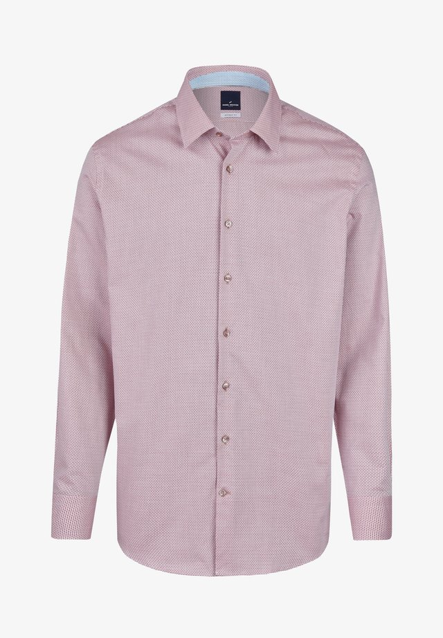 MIT MIKROMUSTER - Shirt - red