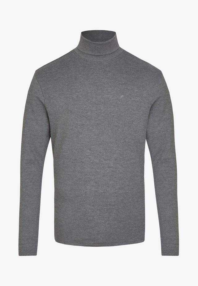 Long sleeved top - Heather gray