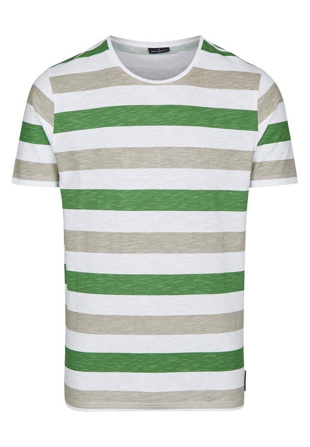 SLUB-GARN  - Print T-shirt - grã¼n
