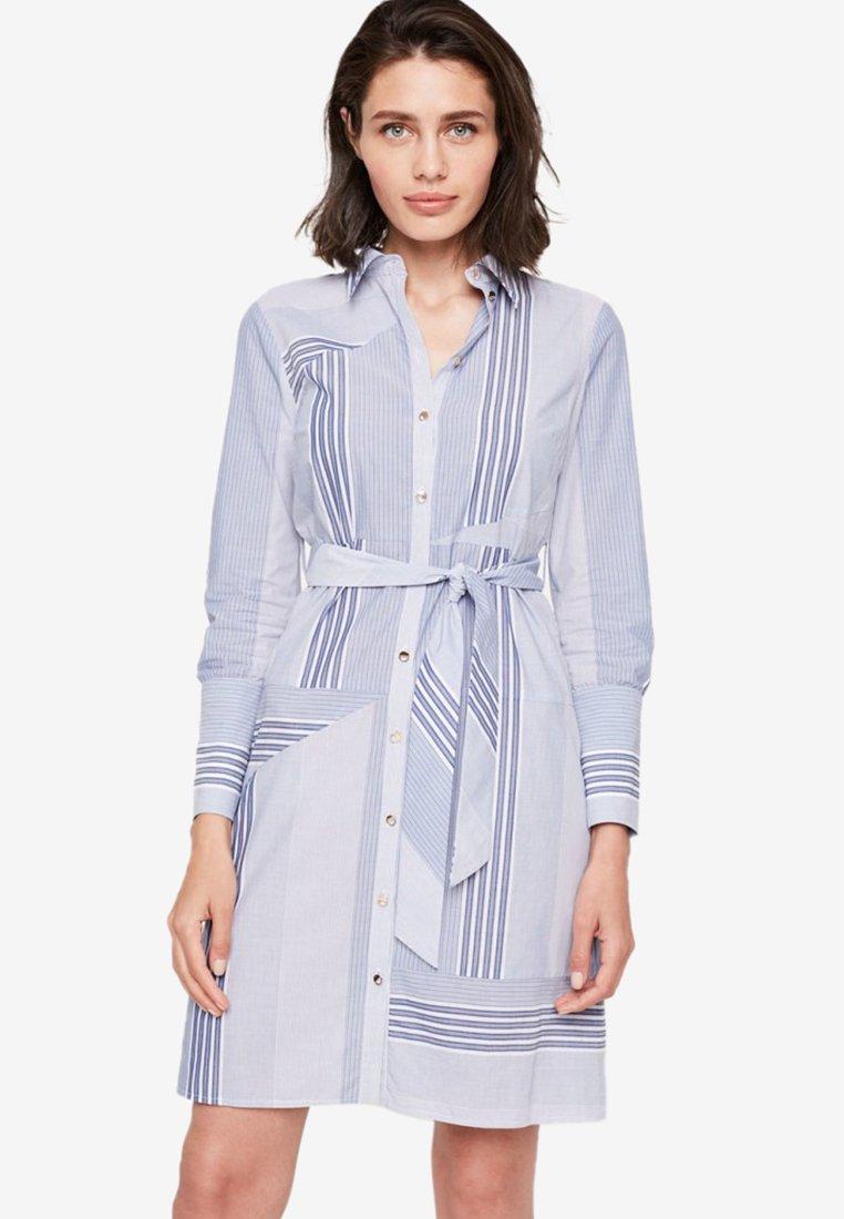 Damsel in a Dress - SENIA  - Blusenkleid - blue/white