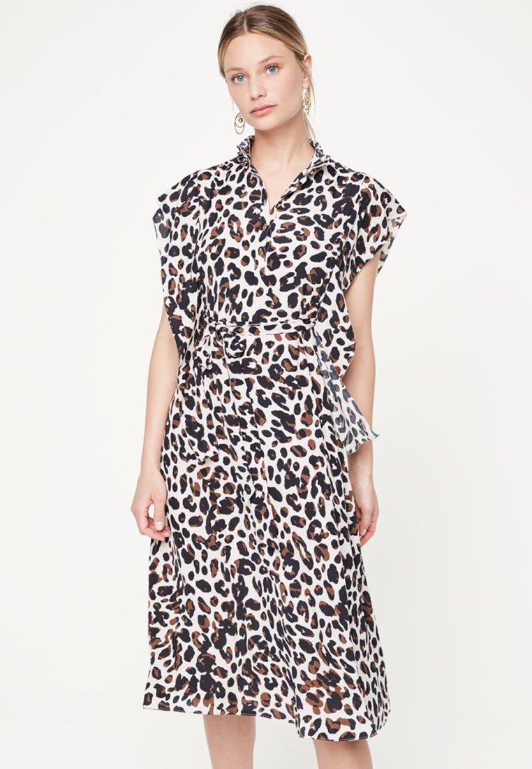 Damsel in a Dress - Trudy  - Blusenkleid - light grey