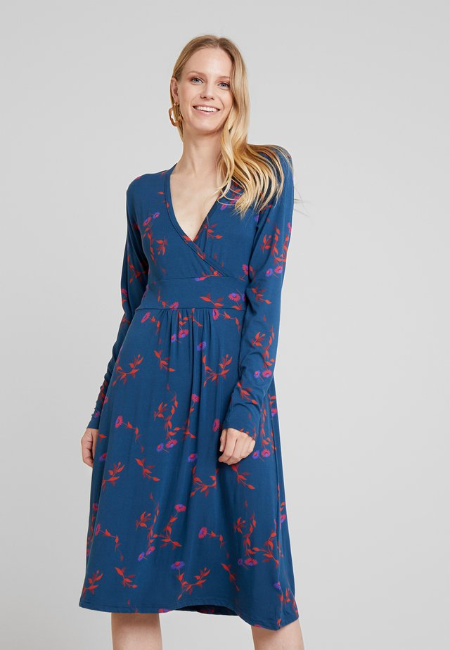BETH DRESS - Jerseyjurk - deep ocean