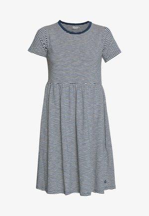 ORGANIC NIELSEN DRESS - Jerseyjurk - cold slate/chalk