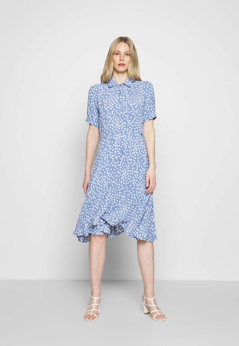 Danefæ København - PRIM DRESS - Denní šaty - light blue