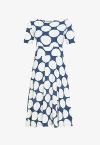 Danefæ København - ORGANIC CHARLOTTE DRESS - Denní šaty - cold slate - 5