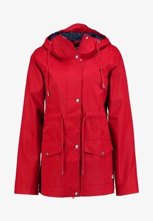 LOTTA RAIN JACKET - Vodotěsná bunda - red