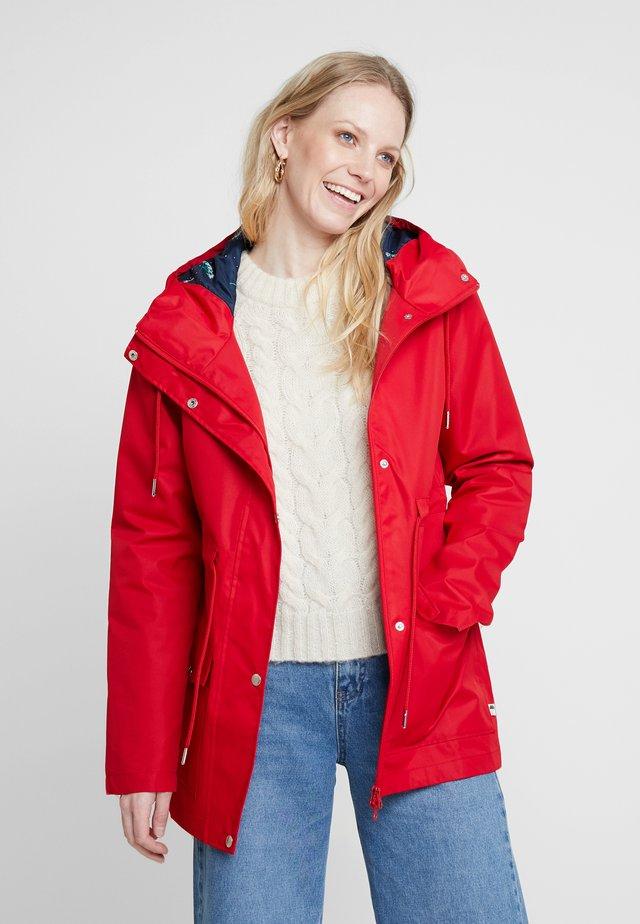 LOTTA RAIN JACKET - Waterproof jacket - red