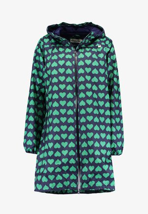 HELEN RAINJACKET - Sadetakki - navy/green