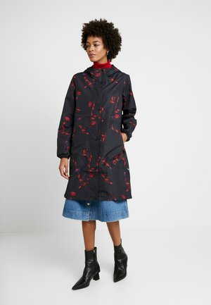 EDITH RAIN JACKET - Parka - black picabella