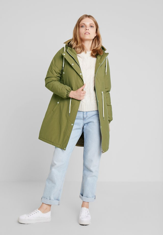 NORA WINTER - Winter coat - olive