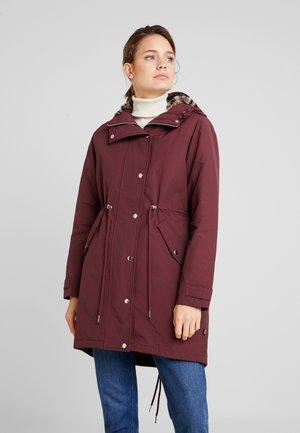 HOUND LUX PARKA - Zimní kabát - dark red