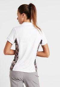 Daily Sports - KAREN CAP - Koszulka polo - white - 2