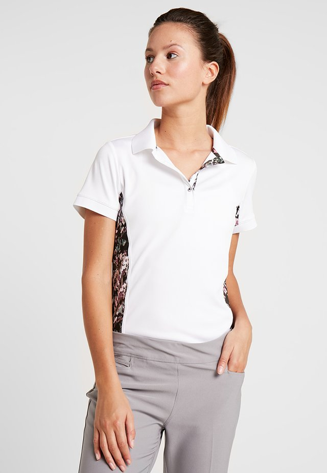 KAREN CAP - Polo shirt - white