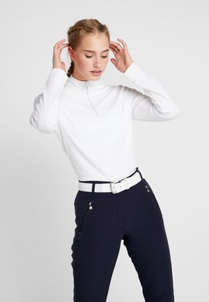 ANNA - Long sleeved top - white