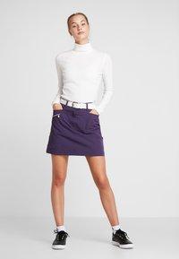 Daily Sports - MAGGIE ROLL NECK - Maglietta a manica lunga - white - 1