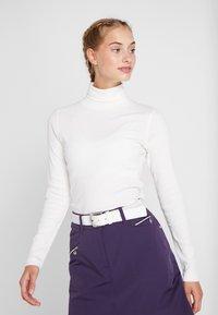 Daily Sports - MAGGIE ROLL NECK - Maglietta a manica lunga - white - 0