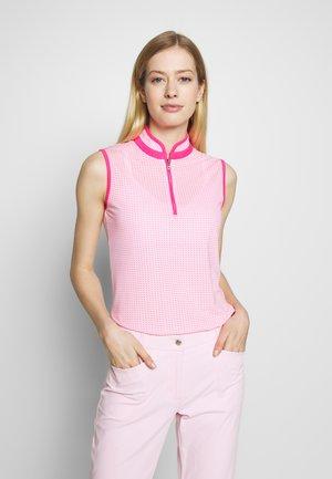TALIA - Triko spotiskem - hot pink