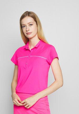 ADINA CAP - Polo shirt - hot pink